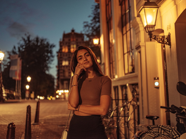 ночная фотопрогулка в амстердаме
