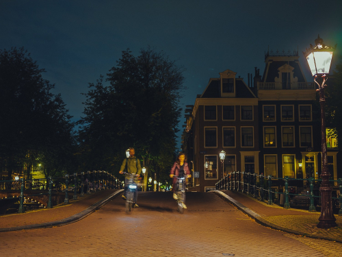 blue hour photoshoot amsterdam