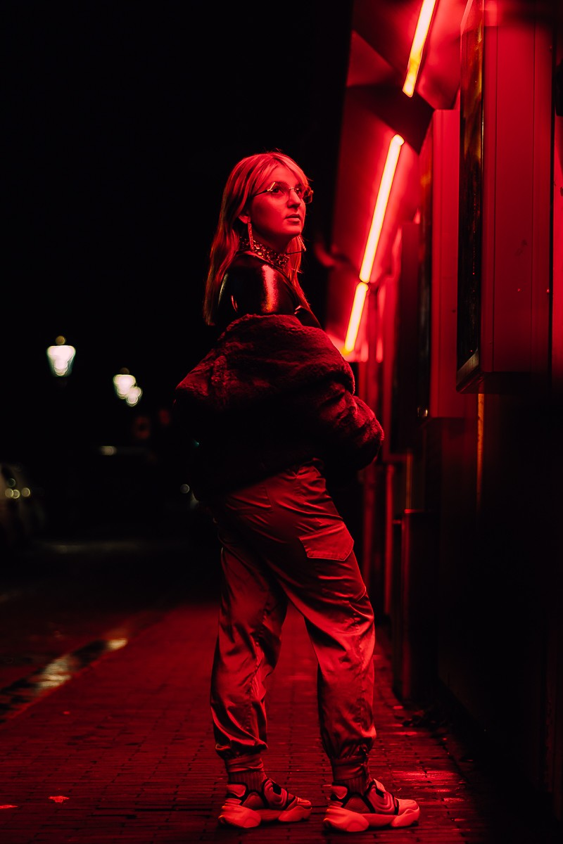 ночная индивидуальная фотосессия в амстердаме