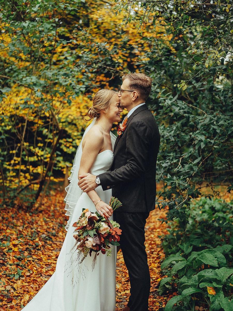 wedding couple photography autumn