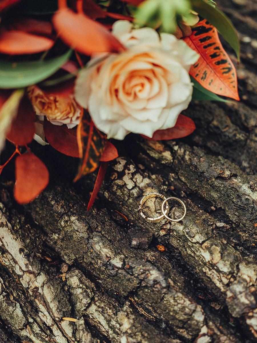 wedding autumn bouquet photography