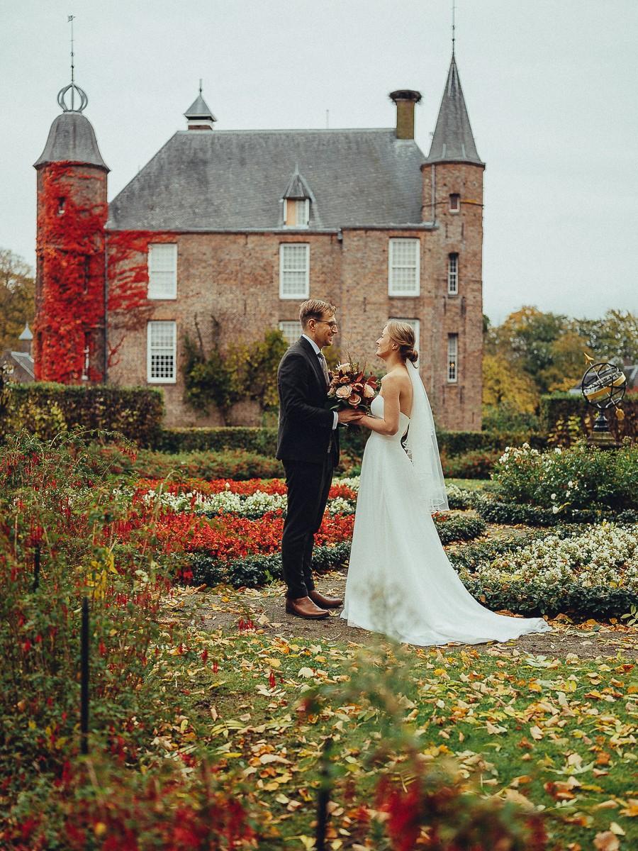 wedding couple autumn photoshoot