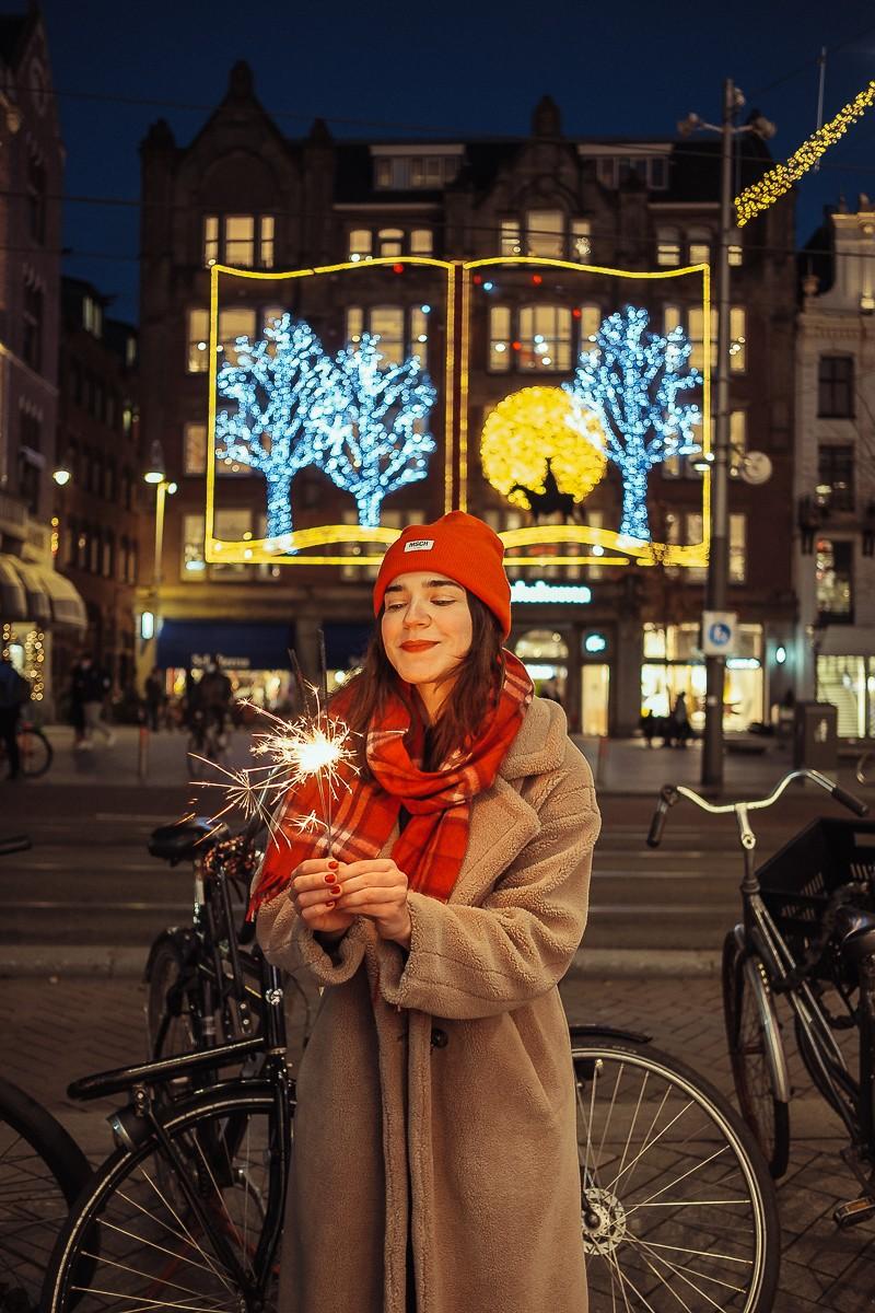 merry christmas photoshoot amsterdam