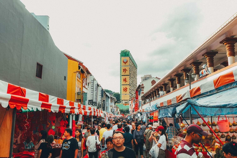 поездка в Сингапур на китайский Новый год