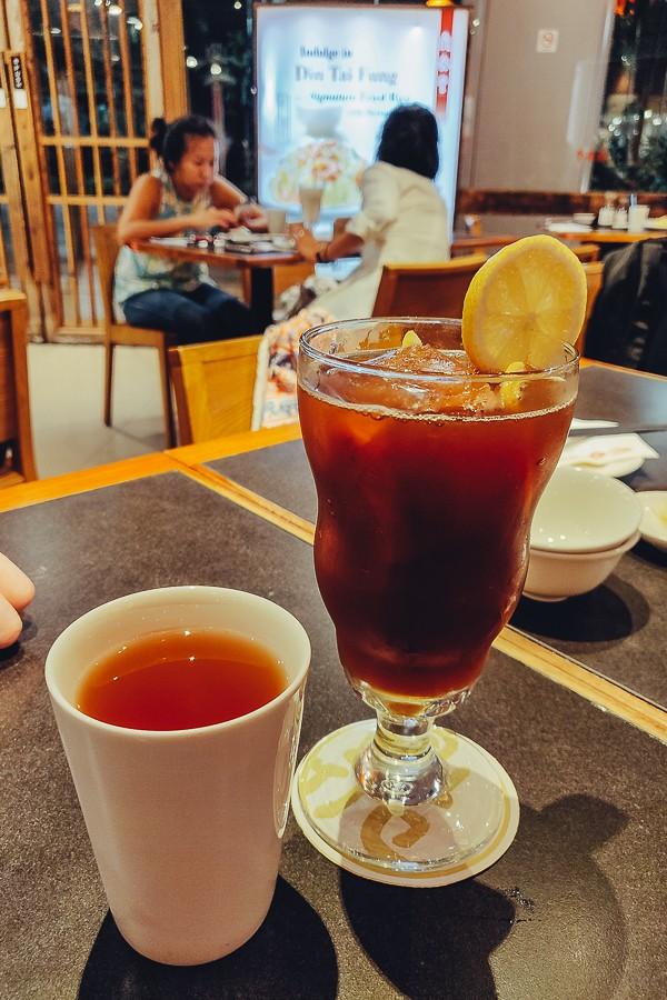 напитки сингапура