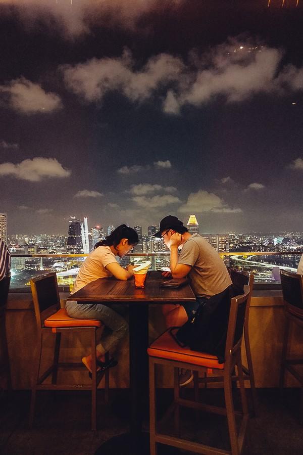 руф бары сингапура