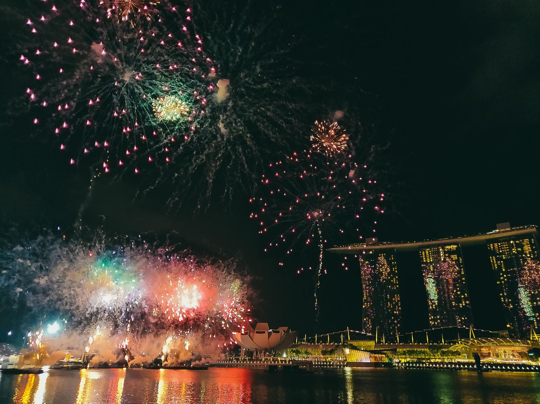 Сингапур на китайский Новый год
