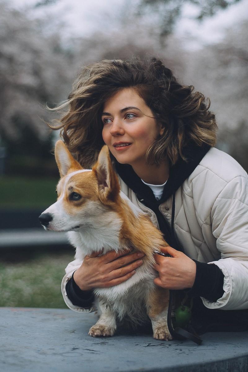 Fotoshoot met hond in Amsterdam
