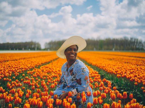 dark skin female photoshoot amsterdam
