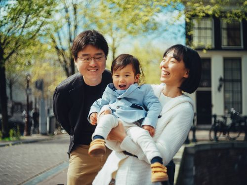 japanese family photography in amsterdam
