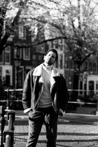 vintage bw photography in amsterdam