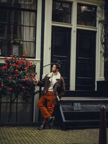 streetstyle photoshoot in amsterdam